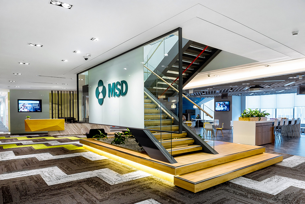 Msd it global innovation hub db b a different perspective for Design consultancy singapore