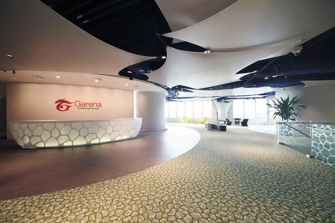 Design Journey DBB Takes the Best Office Interior in Singapore